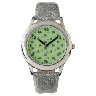 Shamrock Print Watch