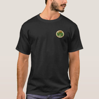 Shamrock skull wreath T-Shirt