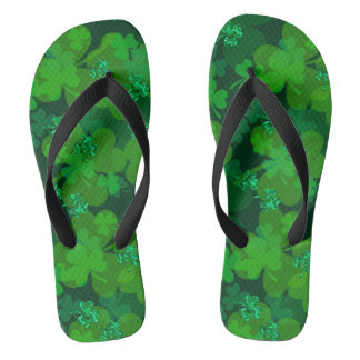 Shamrock Sparkel Thongs
