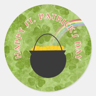 Shamrock St Patrick s Day Stickers