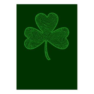Shamrock St. Patrick's Day Business Cards