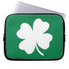 Shamrock  St Patricks Day Ireland Laptop Sleeve