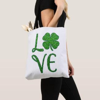 Shamrock. St. Patricks Day. Irish Clover Tote Bag