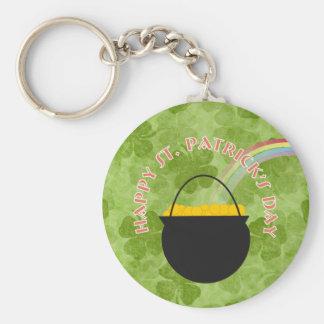 Shamrock St. Patrick's Day Keychain