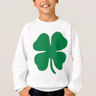 SHAMROCK ST PATRICK'S DAY TRUCKER HAT SWEATSHIRT