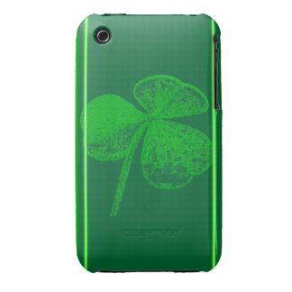 Shamrock Stamp by Kenneth Yoncich Case-Mate iPhone 3 Cases