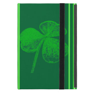 Shamrock Stamp by Kenneth Yoncich iPad Mini Covers