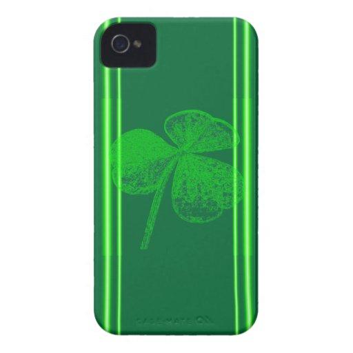 Shamrock Stamp Case-Mate iPhone 4 Case