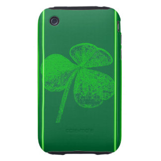 Shamrock Stamp iPhone 3 Tough Cases