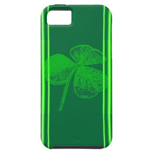 Shamrock Stamp Cover For iPhone 5/5S