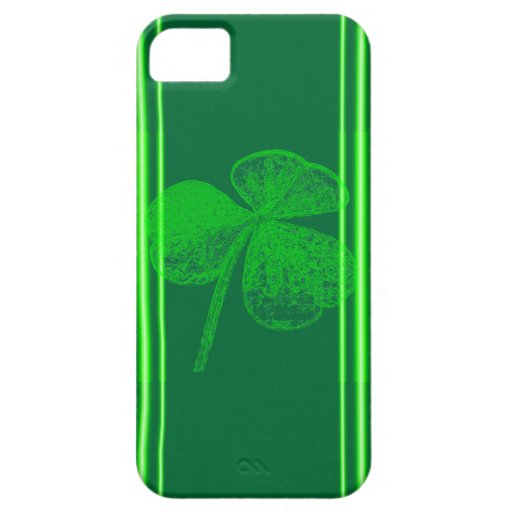 Shamrock Stamp iPhone 5 Covers