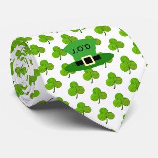Shamrock & Stovepipe Hat Tie