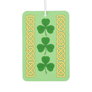 Shamrock Trio Car Air Freshener