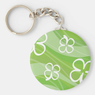 Shamrock Waves 2 Key Ring
