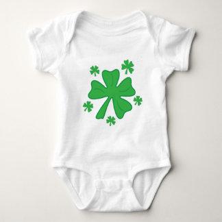 Shamrocks Baby Bodysuit