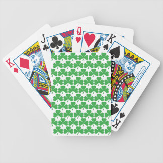 SHAMROCKS! BICYCLE PLAYING CARDS