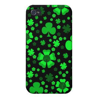 Shamrocks & Clovers iPhone 4 Covers