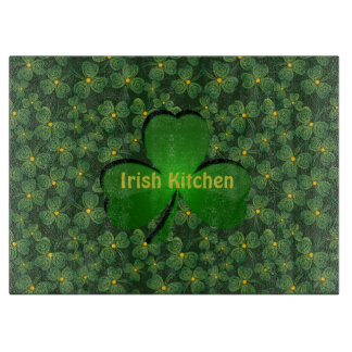 Shamrocks Design Cutting Board