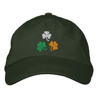 Shamrocks Embroidered Baseball Caps