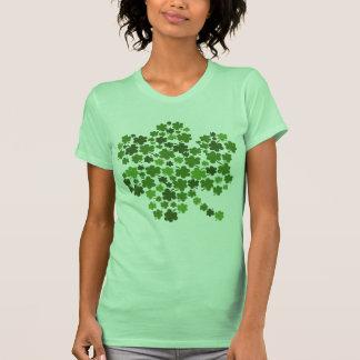 Shamrocks In A Shamrock T Shirt