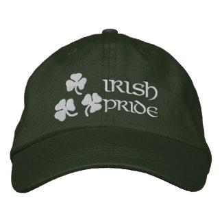 Shamrocks Irish Pride Embroidered Hat