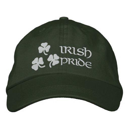 Shamrocks Irish Pride Embroidered Hats