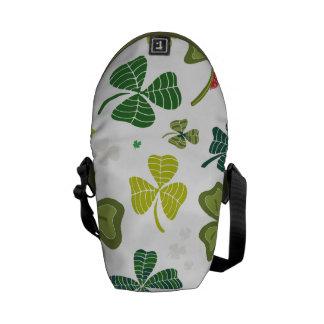 Shamrocks Messenger Bags