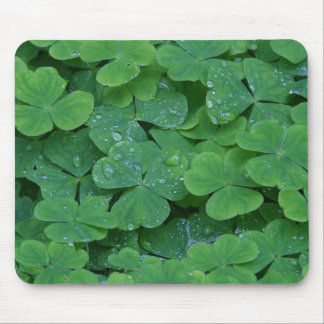 SHAMROCKS MOUSE PAD