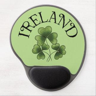 Shamrocks of Ireland Gel Mouse Pad
