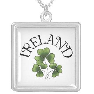 Shamrocks of Ireland Necklace