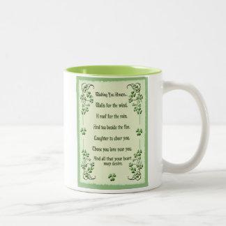 Shamrocks Wishing You Mugs