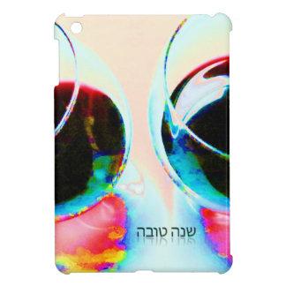 Shanah Tovah שנה טובה Hebrew Wine Glasses happy Case For The iPad Mini