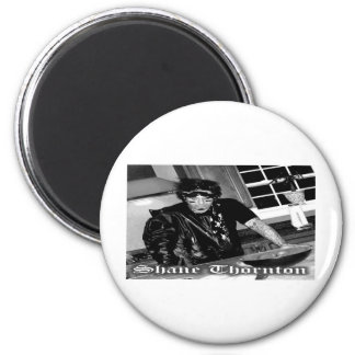Shane Thornton with name 6 Cm Round Magnet