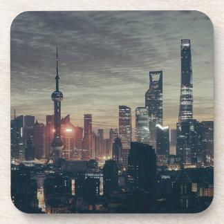 Shanghai by Night Coasters