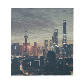 Shanghai by Night Notepad