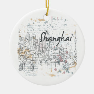 Shanghai Ceramic Ornament
