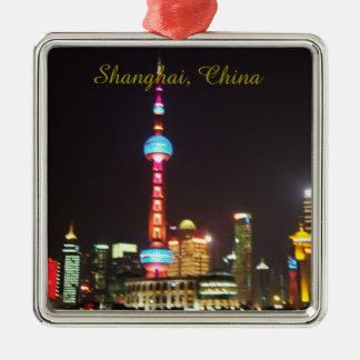 Shanghai China Christmas Ornament