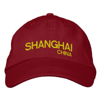 Shanghai China Personalized Adjustable Hat Embroidered Cap