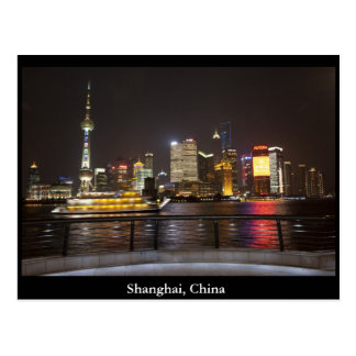 Shanghai, China Postcard