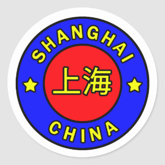 Shanghai China sticker