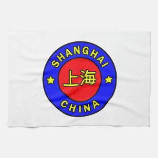 Shanghai China Tea Towel