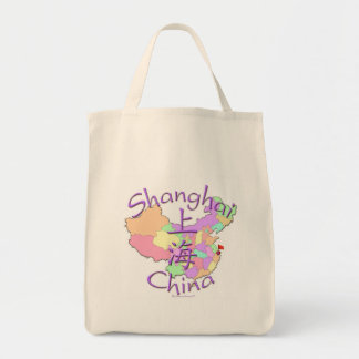 Shanghai China Tote Bag