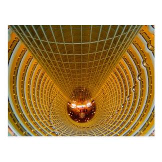 Shanghai China wonderful abstract of Oriental 2 Postcard