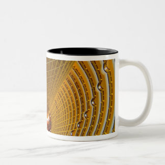 Shanghai China wonderful abstract of Oriental 2 Two-Tone Mug
