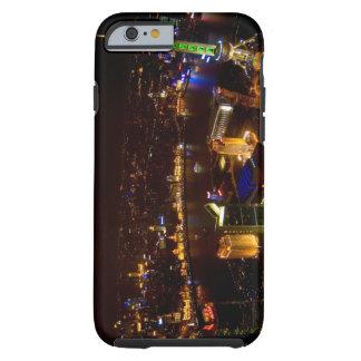 Shanghai China wonderful skyline with modern Tough iPhone 6 Case