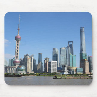 Shanghai from the Bund Mousepad