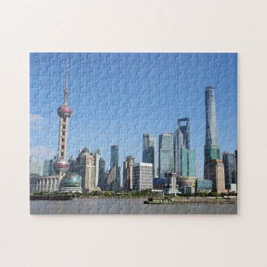 Shanghai from the Bund Puzzle