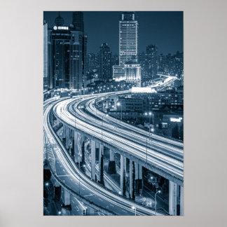 Shanghai Overpass 1 poster