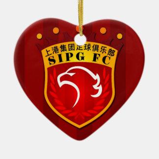Shanghai SIPG F.C. Ceramic Ornament