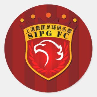 Shanghai SIPG F.C. Round Sticker